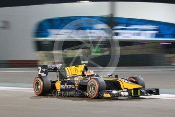 World © Octane Photographic Ltd. Friday 27th November 2015. DAMS – Alex Lynn. GP2 Qualifying, Yas Marina, Abu Dhabi. Digital Ref. : 1481CB1L5950