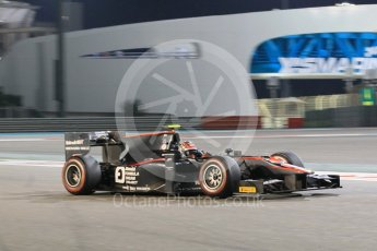 World © Octane Photographic Ltd. Friday 27th November 2015. ART Grand Prix – Nobuharu Matsushita. GP2 Qualifying, Yas Marina, Abu Dhabi. Digital Ref. : 1481CB1L6023