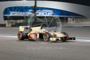 World © Octane Photographic Ltd. Friday 27th November 2015. Campos Racing – Arthur Pic. GP2 Qualifying, Yas Marina, Abu Dhabi. Digital Ref. : 1481CB1L6045