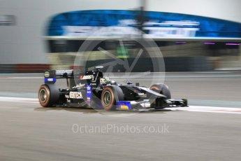 World © Octane Photographic Ltd. Friday 27th November 2015. Daiko Team Lazarus– Nathanaël Berthon. GP2 Qualifying, Yas Marina, Abu Dhabi. Digital Ref. : 1481CB1L6065