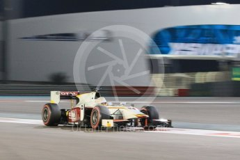 World © Octane Photographic Ltd. Friday 27th November 2015. Campos Racing – Arthur Pic. GP2 Qualifying, Yas Marina, Abu Dhabi. Digital Ref. : 1481CB1L6116