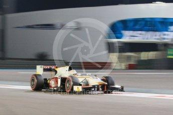 World © Octane Photographic Ltd. Friday 27th November 2015. Campos Racing – Arthur Pic. GP2 Qualifying, Yas Marina, Abu Dhabi. Digital Ref. : 1481CB1L6116