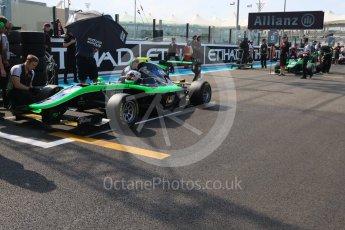 World © Octane Photographic Ltd. Saturday 28th November 2015. Status Grand Prix – Alex Fontana. GP3 Race 1 - Yas Marina, Abu Dhabi. Digital Ref. :