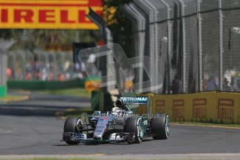 World © Octane Photographic Ltd. Mercedes AMG Petronas F1 W06 Hybrid – Lewis Hamilton. Friday 13th March 2015, F1 Australian GP Practice 1, Melbourne, Albert Park, Australia. Digital Ref: 1200LB1D5469