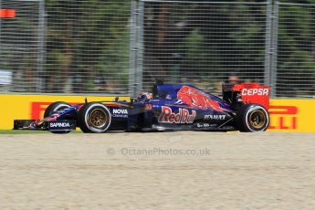 World © Octane Photographic Ltd. Scuderia Toro Rosso STR10 – Max Verstappen Friday 13th March 2015, F1 Australian GP Practice 1, Melbourne, Albert Park, Australia. Digital Ref: 1200LW1L5691
