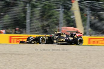 World © Octane Photographic Ltd. Lotus F1 Team E23 Hybrid – Pastor Maldonado. Friday 13th March 2015, F1 Australian GP Practice 1, Melbourne, Albert Park, Australia. Digital Ref: 1200LW1L5841
