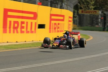 World © Octane Photographic Ltd. Scuderia Toro Rosso STR10 – Carlos Sainz Jnr. Friday 13th March 2015, F1 Australian GP Practice 1, Melbourne, Albert Park, Australia. Digital Ref: 1200LW1L6002