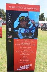 World © Octane Photographic Ltd. Wednesday 11th March 2015, F1 Australian GP, Melbourne, Albert Park, Australia, Damon Hill. Digital Ref: 1197LW1L5590