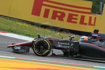 World © Octane Photographic Ltd. McLaren Honda MP4/30 – Fernando Alonso. Friday 19th June 2015, F1 Austrian GP Practice 1, Red Bull Ring, Spielberg, Austria. Digital Ref: 1304LB1D5203