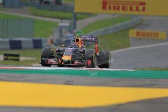 World © Octane Photographic Ltd. Infiniti Red Bull Racing RB11 – Daniil Kvyat. Friday 19th June 2015, F1 Austrian GP Practice 1, Red Bull Ring, Spielberg, Austria. Digital Ref: 1304LB1D5216