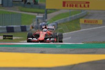 World © Octane Photographic Ltd. Scuderia Ferrari SF15-T– Sebastian Vettel. Friday 19th June 2015, F1 Austrian GP Practice 1, Red Bull Ring, Spielberg, Austria. Digital Ref: 1304LB1D5252