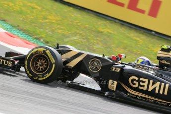 World © Octane Photographic Ltd. Lotus F1 Team E23 Hybrid – Pastor Maldonado. Friday 19th June 2015, F1 Austrian GP Practice 1, Red Bull Ring, Spielberg, Austria. Digital Ref: 1304LB1D5440