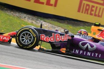 World © Octane Photographic Ltd. Infiniti Red Bull Racing RB11 – Daniil Kvyat. Friday 19th June 2015, F1 Austrian GP Practice 1, Red Bull Ring, Spielberg, Austria. Digital Ref: 1304LB1D5496