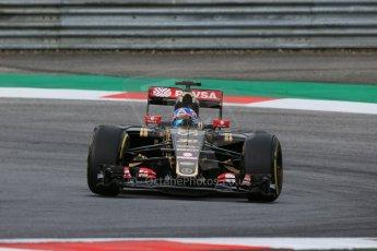 World © Octane Photographic Ltd. Lotus F1 Team E23 Hybrid Reserve Driver – Jolyon Palmer. Friday 19th June 2015, F1 Austrian GP Practice 1, Red Bull Ring, Spielberg, Austria. Digital Ref: 1304LB1D5688