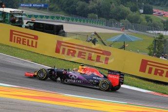 World © Octane Photographic Ltd. Infiniti Red Bull Racing RB11 – Daniil Kvyat. Friday 19th June 2015, F1 Austrian GP Practice 1, Red Bull Ring, Spielberg, Austria. Digital Ref: 1304LW1L2512