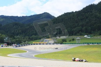 World © Octane Photographic Ltd. Friday 19th June 2015. Campos Racing – Rio Haryanto. GP2 Qualifying – Red Bull Ring, Spielberg, Austria. Digital Ref. : 1307CB5D4806