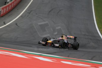 World © Octane Photographic Ltd. Friday 19th June 2015. DAMS – Pierre Gasly. GP2 Practice – Red Bull Ring, Spielberg, Austria. Digital Ref. : 1805LB1D6105