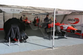 World © Octane Photographic Ltd. Sunday 21st June 2015. Arden International – Kevin Ceccon will not start today's race due to damage sustained in race 1. GP3 Race 2 – Red Bull Ring, Spielberg, Austria. Digital Ref. : 1316CB5D5315