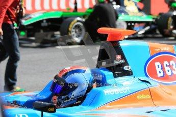 World © Octane Photographic Ltd. Sunday 21st June 2015. Jenzer Motorsport – Ralph Boschung and Status Grand Prix – Sandy Stuvik. GP3 Race 2 – Red Bull Ring, Spielberg, Austria. Digital Ref. : 1316CB7D6860