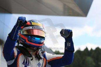 World © Octane Photographic Ltd. Sunday 21st June 2015. Trident – Oscar Tunjo. GP3 Race 2 – Red Bull Ring, Spielberg, Austria. Digital Ref. : 1316CB7D6875