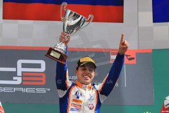World © Octane Photographic Ltd. Sunday 21st June 2015. Trident – Oscar Tunjo. GP3 Race 2 – Red Bull Ring, Spielberg, Austria. Digital Ref. : 1316CB7D6953