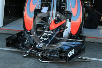 World © Octane Photographic Ltd. McLaren Honda MP4/30 body work. Friday 21st August 2015, F1 Belgian GP Pitlane, Spa-Francorchamps, Belgium. Digital Ref: 1379LB1D7485