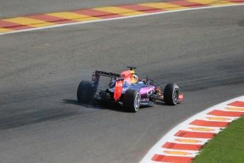 World © Octane Photographic Ltd. Infiniti Red Bull Racing RB11 – Daniel Ricciardo. Saturday 22nd August 2015, F1 Belgian GP Qualifying, Spa-Francorchamps, Belgium. Digital Ref: 1382LB1D0420