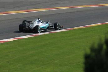 World © Octane Photographic Ltd. Mercedes AMG Petronas F1 W06 Hybrid – Nico Rosberg. Saturday 22nd August 2015, F1 Belgian GP Qualifying, Spa-Francorchamps, Belgium. Digital Ref: