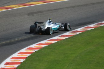 World © Octane Photographic Ltd. Mercedes AMG Petronas F1 W06 Hybrid – Nico Rosberg. Saturday 22nd August 2015, F1 Belgian GP Qualifying, Spa-Francorchamps, Belgium. Digital Ref: 1382LB1D0550