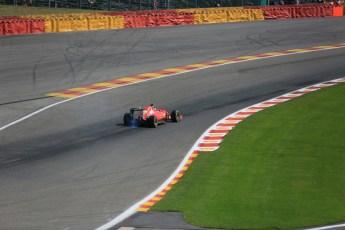 World © Octane Photographic Ltd. Scuderia Ferrari SF15-T – Kimi Raikkonen. Saturday 22nd August 2015, F1 Belgian GP Qualifying, Spa-Francorchamps, Belgium. Digital Ref: 1382LB5D9545