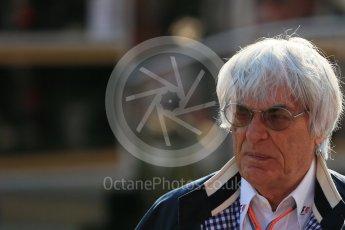 World © Octane Photographic Ltd. Bernie Ecclestone. Saturday 22nd August 2015, F1 Belgian GP Paddock, Spa-Francorchamps, Belgium. Digital Ref: 1380LB1D9693