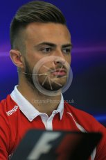 World © Octane Photographic Ltd. FIA Drivers' Press Conference. Thursday 23rd July 2015, F1 Belgian GP, Spa-Francorchamps, Belgium. Will Stevens – Manor Marussia. Digital Ref: 1371LB1D7230