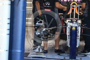 World © Octane Photographic Ltd. Infiniti Red Bull Racing RB11 – Daniel Ricciardo. Thursday 20th August 2015, F1 Belgian GP Pitlane, Spa-Francorchamps, Belgium. Digital Ref: 1370LB1D6741