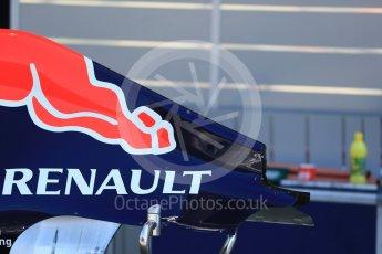 World © Octane Photographic Ltd. Infiniti Red Bull Racing RB11. Thursday 20th August 2015, F1 Belgian GP Pitlane, Spa-Francorchamps, Belgium. Digital Ref: 1370LB1D6755