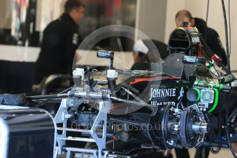 World © Octane Photographic Ltd. McLaren Honda MP4/30. Thursday 20th August 2015, F1 Belgian GP Pitlane, Spa-Francorchamps, Belgium. Digital Ref: 1370LB1D6891