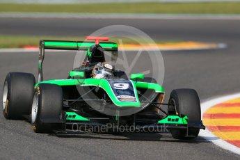 World © Octane Photographic Ltd. Friday 21st August 2015. Status Grand Prix – Sandy Stuvik. GP3 Practice – Spa-Francorchamps, Belgium. Digital Ref. : 1378LB1D8820