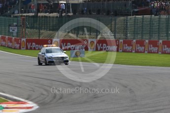 World © Octane Photographic Ltd. Mercedes C63 AMG Estate Medical car. Sunday 23rd August 2015, F1 Belgian GP Race, Spa-Francorchamps, Belgium. Digital Ref: 1389LB1D2139