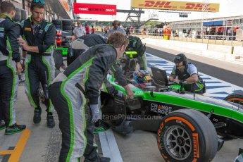 World © Octane Photographic Ltd. Friday 3rd July 2015. Status Grand Prix – Richie Stanaway. GP2 Practice – Silverstone, UK. Digital Ref. : 1329JM1D3200