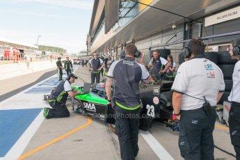 World © Octane Photographic Ltd. Friday 3rd July 2015. Status Grand Prix – Richie Stanaway. GP2 Practice – Silverstone, UK. Digital Ref. : 1329JM1D3213
