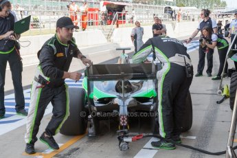 World © Octane Photographic Ltd. Friday 3rd July 2015. Status Grand Prix – Richie Stanaway. GP2 Practice – Silverstone, UK. Digital Ref. : 1329JM1D3215