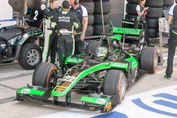 World © Octane Photographic Ltd. Friday 3rd July 2015. Status Grand Prix – Marlon Stockinger. GP2 Practice – Silverstone, UK. Digital Ref. : 1329JM1D3872
