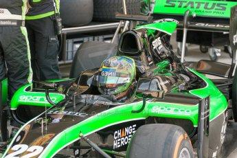 World © Octane Photographic Ltd. Friday 3rd July 2015. Status Grand Prix – Marlon Stockinger. GP2 Practice – Silverstone, UK. Digital Ref. : 1329JM1D3873