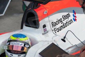 World © Octane Photographic Ltd. Friday 3rd July 2015. MP Motorsport – Oliver Rowland. GP2 Practice – Silverstone, UK. Digital Ref. : 1329JM1D3922