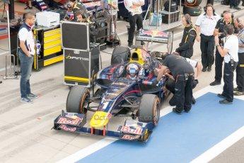 World © Octane Photographic Ltd. Friday 3rd July 2015. DAMS – Pierre Gasly. GP2 Practice – Silverstone, UK. Digital Ref. : 1329JM1D3924