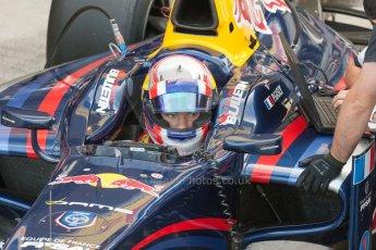 World © Octane Photographic Ltd. Friday 3rd July 2015. DAMS – Pierre Gasly. GP2 Practice – Silverstone, UK. Digital Ref. : 1329JM1D3925