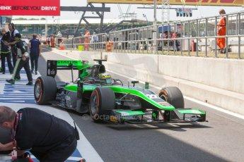 World © Octane Photographic Ltd. Friday 3rd July 2015. Status Grand Prix – Marlon Stockinger. GP2 Practice – Silverstone, UK. Digital Ref. : 1329JM1D3955