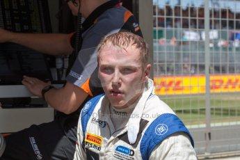 World © Octane Photographic Ltd. Friday 3rd July 2015. Hilmer Motorsport – Jon Lancaster. GP2 Practice – Silverstone, UK. Spain. Digital Ref. : 1329JM1D4075