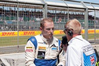 World © Octane Photographic Ltd. Friday 3rd July 2015. Hilmer Motorsport – Jon Lancaster. GP2 Practice – Silverstone, UK. Spain. Digital Ref. : 1329JM1D4078