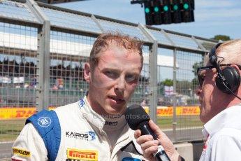 World © Octane Photographic Ltd. Friday 3rd July 2015. Hilmer Motorsport – Jon Lancaster. GP2 Practice – Silverstone, UK. Spain. Digital Ref. : 1329JM1D4081