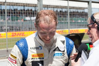 World © Octane Photographic Ltd. Friday 3rd July 2015. Hilmer Motorsport – Jon Lancaster. GP2 Practice – Silverstone, UK. Spain. Digital Ref. : 1329JM1D4086